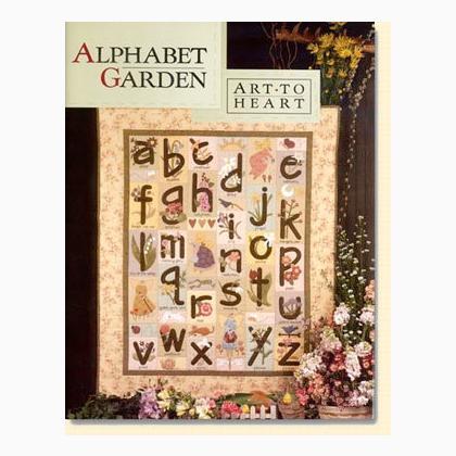 Alphabet Garden de Art to Heart Libros y revistas Libros