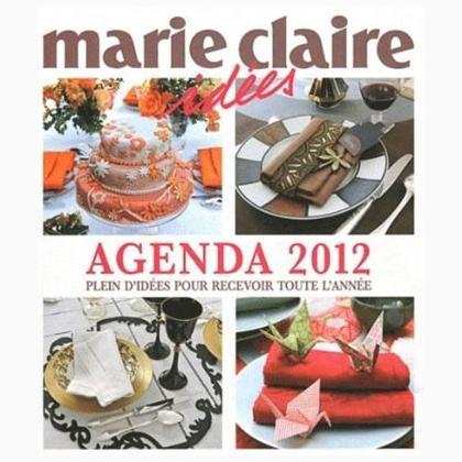 Agenda marie claire id es 2012 de marie claire libros y revistas libros y revistas casa cenina - Marie claire casa ...