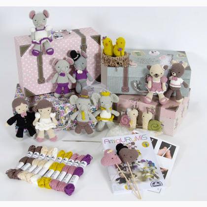 Kit para decoração de quarto de bebê Amigurumi no Elo7 ... | 420x420