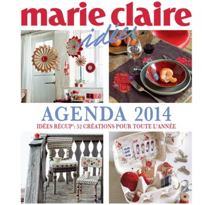 Agenda marie claire ides 2014 de marie claire libros y - Marie claire casa ...