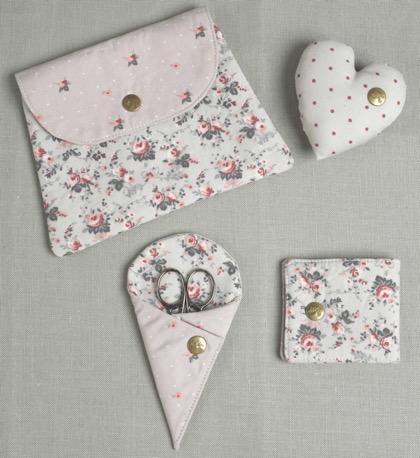 Set de costura little roses de dmc accesorios y merceria accesorios y merceria casa cenina - Set de costura ...