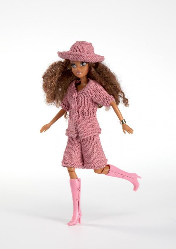Dressing pour poupées - Tricot & crochet de Les édition de saxe ...