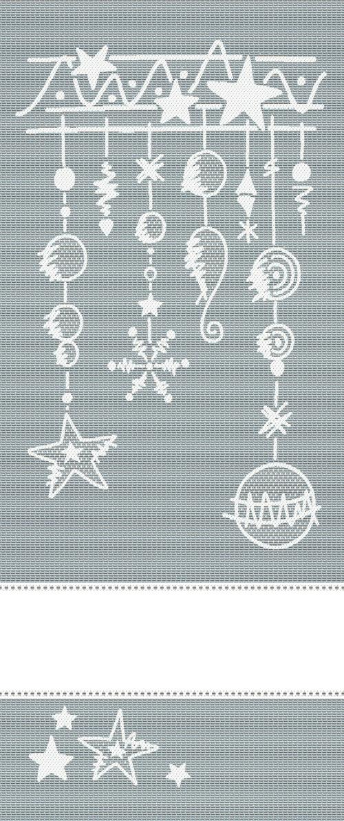 Panel decorativo natalia plata lurex de tessitura - Panel decorativo cocina ...