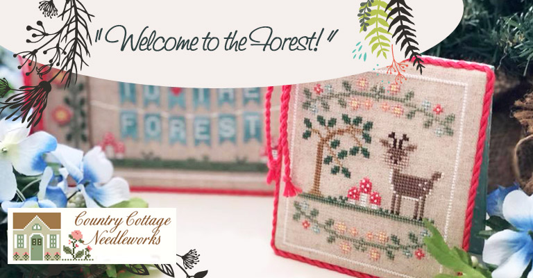 Siete meses con Country Cottage Needleworks