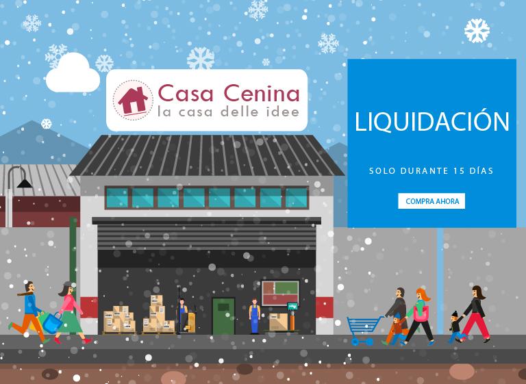 LIQUIDACIÓN: ¡Se hace espacio en Casa Cenina!